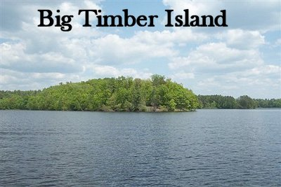 Big Timer Island ,Lake Chippewa Flowage, Hayward WI