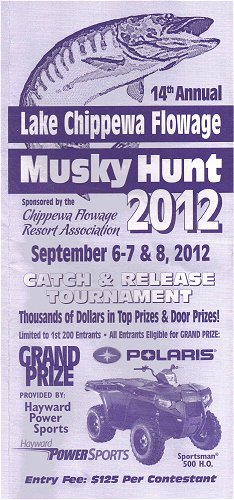 Musky Hunt Sponsored by the Chippewa Flowage Resort Association