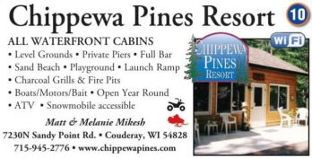 Winter Lodging Chippewa Pines Resort