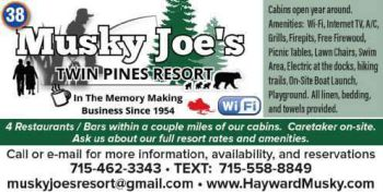 Musky Joes Twin Pines Resort