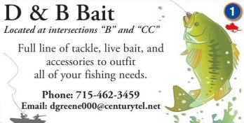 Bait and Tackle, FIshing Bait stores near hayward wi