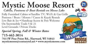 Mystic Moose chippewa Flowage Business