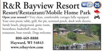 Winter Lodging R & R Bayview Resort & Restaurant