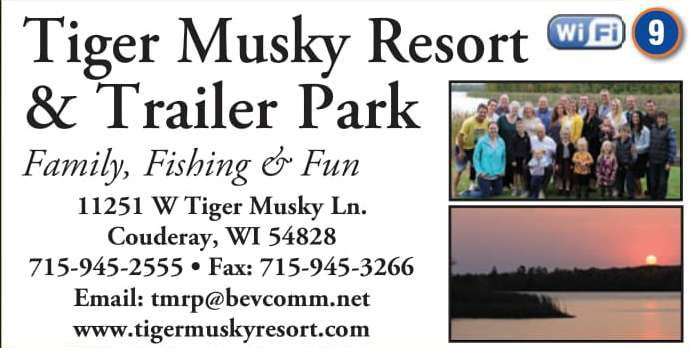 Winter Lodging Tiger Musky Resort