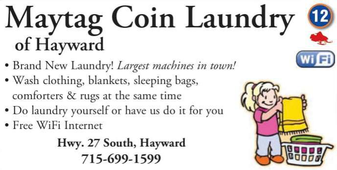 Winter Lodging Maytag Coin Laundry
