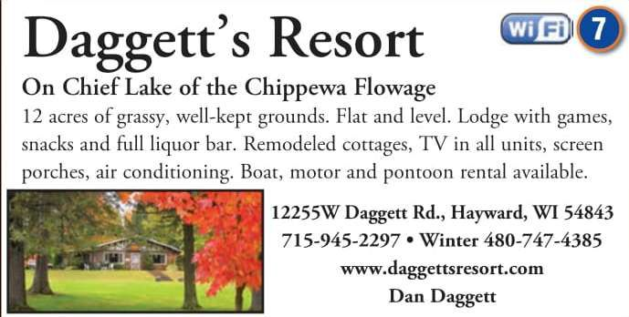 Winter Lodging Daggett's Resort & Campground