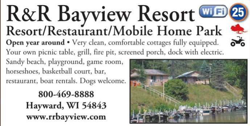 Winter Lodging R & R Bayview Resort & Restaurant