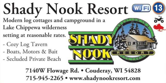 Winter Lodging Shady Nook Resort