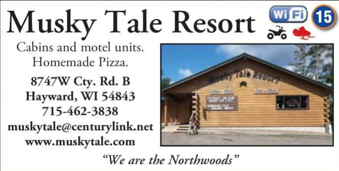 Winter Lodging Musky Tale Resort & RV Park