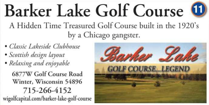 Winter Lodging Barker Lake Golf Course Legend