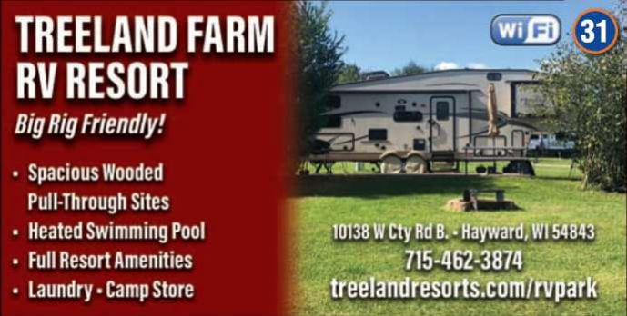 Winter Lodging Treeland Farm RV Park