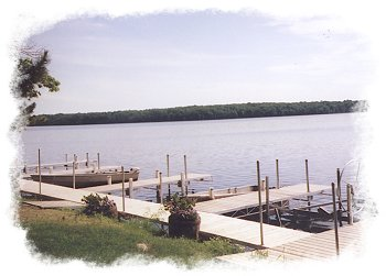 Golden View Resort Dock Space on the Chippewa Flowage