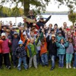 National youth Muskie fishing event on Moose Lake