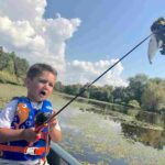 A Flying, Floppy, Fish Tale - By Ben Smith, kid fisherman