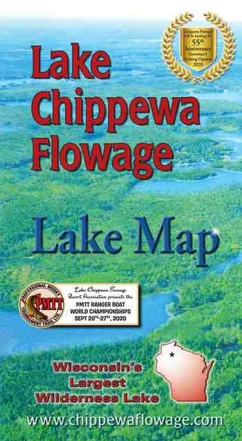 Request your free lake Chippewa Flowage Map