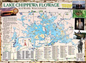 Free Chippewa Flowage lake Map