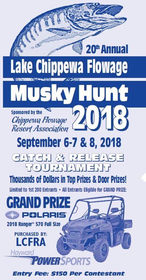Chippewa Flowage Single Hook Study Results - Musky America